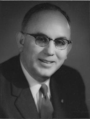 1956-1957 Dr. Luther R. Medlin